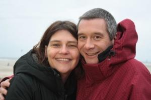 Silvia mit Freund Patrick