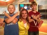 Sprechzeit - Sommerrückblick - Familie Hellwig zu Besuch bei Mara Bergmann im WDR und im Lokalzeit Studio