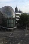 Krebbers Köln - Museum Schnütgen - Ausblick beim Dreh