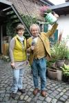Krebbers Köln - Immendorf - Floristin Dorothea Haß im Blumenhof