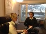 Sprechzeit - Mit dem Segway in die Bahn - Interview