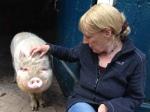 WDR - Tiere suchen ein Zuhause - Hof Butenland - Karin mit Prinz Loui