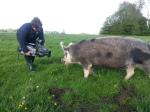 WDR - Tiere suchen ein Zuhause - Hof Butenland - Petra mit Rosa