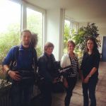 WDR - Menschen Hautnah - Julia, schafft sie es? - das ganze Team (v.l.n.r. Martin, Petra, Julia, Nicole)