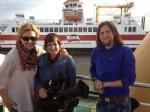 WDR - Menschen Hautnah - Krankhafte Liebe - Das Team (Diana, Petra und Martin) auf dem Weg nach Amrum