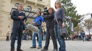 ARD - Deutschland-Dein Tag - Peter Wagner und das Team
