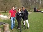 WDR - Menschen Hautnah - Krankhafte Liebe - Das Dreh-Team (vlnr: Martin, Petra & Diana)