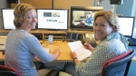WDR - Menschen Hautnah - Krankhafte Liebe - Das Schnitt-Team (vlnr: Kirsten & Diana)
