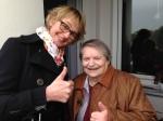 WDR - Lokalzeit Köln - Sprechzeit - Rückblick - Anke Bruns mit Frau Neumann