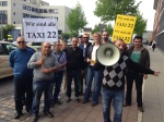 WDR - Lokalzeit Köln - Sprechzeit - Rückblick - Taxi Demo