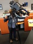 WDR - Lokalzeit Köln - Sprechzeit - Verwahrlostes denkmalgeschütztes Haus - Making Of beim Dreh