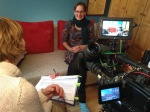 WDR - Servicezeit Reportage - Junge Erwachsene mit Krebs - Interview