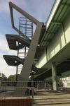 WDR - Lokalzeit Köln - Sprechzeit - Treppe Severinsbrücke gesperrt