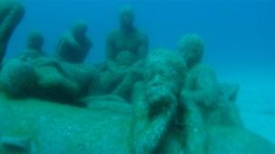 Das Schlauchboot von Lampedusa