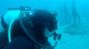 15 Meter unter dem Meer liegt das Museo Atlantico auf Lanzarote