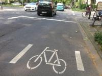WDR - Lokalzeit Köln - Sprechzeit - Fahrradschutzstreifen Kölner Südstadt