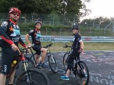 WDR Lokalzeit Bonn - Hidding in Gefahr -Laufen und Radfahren auf der Nordschleife